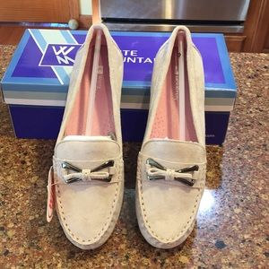 NWT WHITE MOUTAIN SUEDE DRIVING SHOES